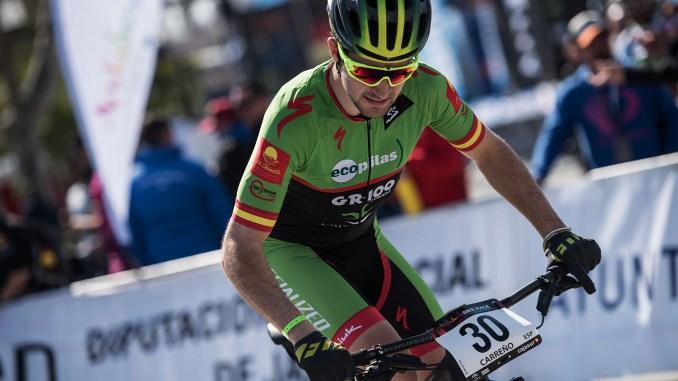 Noveno puesto paraDani Carreño en el inicio de Andalucia Bike Race