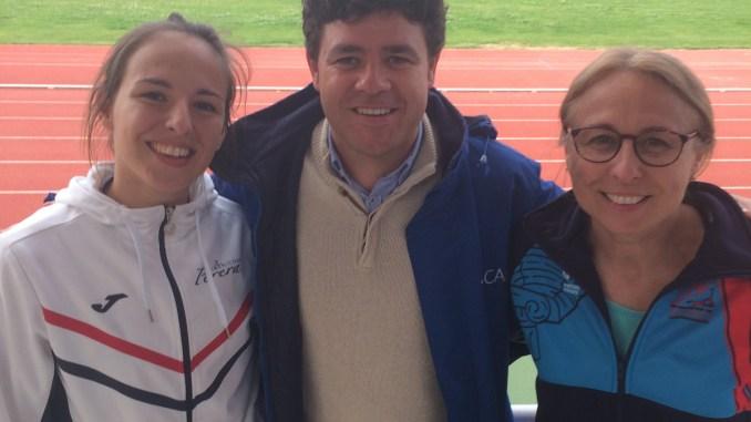 Doble récord de Extremadura para Lucía Sánchez en el Campeonato de España SUB23