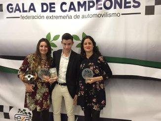 El Extremadura Rallye Team brilló en la Gala de Campeones FEXA 2017
