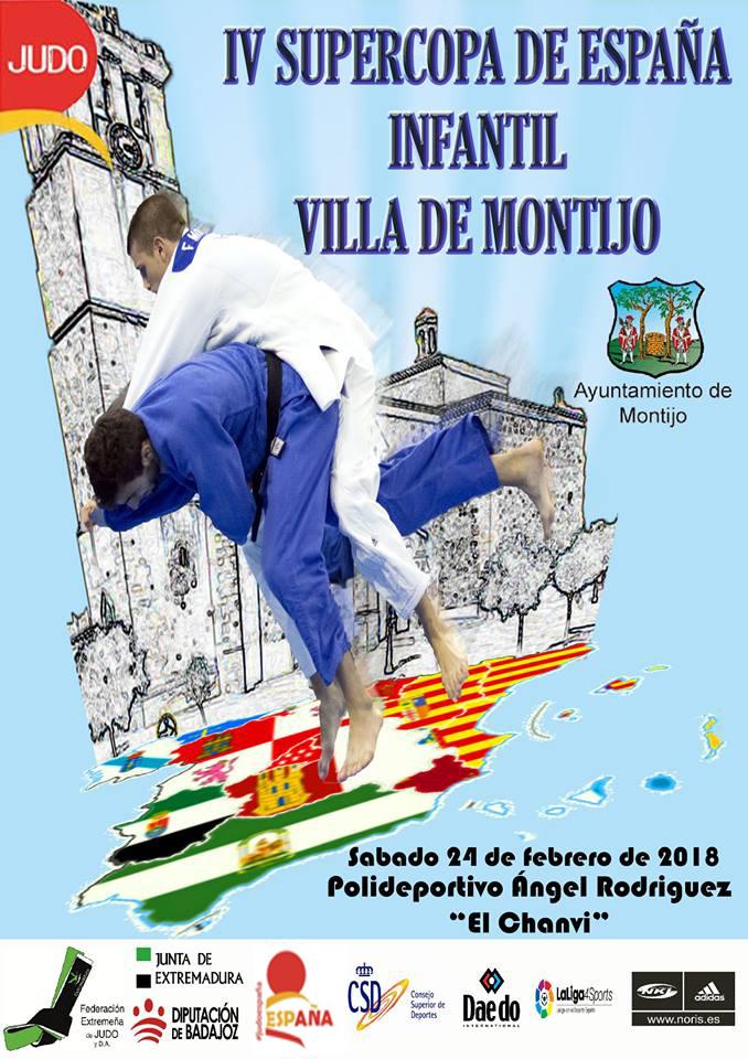 "IV Supercopa de España Infantil de Judo ""VILLA DE MONTIJO"""