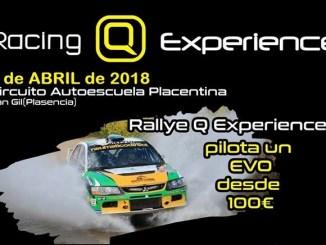 El Q Racing Extremadura organiza las I Jornadas del Motor con la novedosa Q Racing Experience
