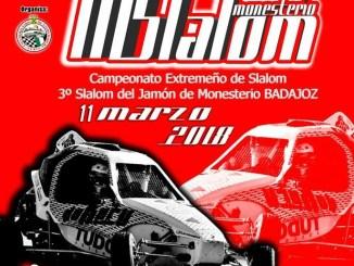 El regional de Slalom arrancará un año más con el Slalom de Monesterio