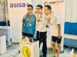 Guillermo Gracia suma y sigue, y logra si tercera medalla de oro, en 200 libres