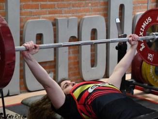 Loida Zabala se proclama Campeona de España Para Powerlifting en Madrid