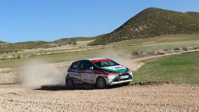 Quinto puesto para Pedro Hernández y Cándido Sánchez en la Copa Kobe del Rallye Tierras Altas de Lorca