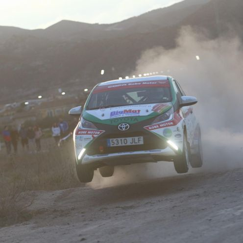 Una de cal y otra de arena para el Extremadura Rallye Team en Lorca (1)