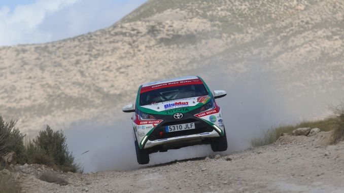 Una de cal y otra de arena para el Extremadura Rallye Team en Lorca