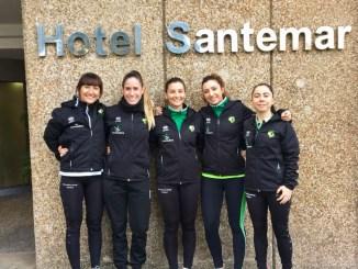 Una delegación del Extremadura Arroyo, presente en el Campeonato de España Universitario en Santander