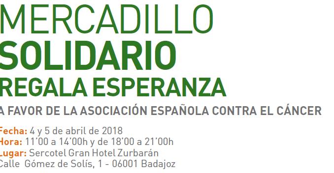 Santa Teresa Badajoz en el Mercadillo Solidario