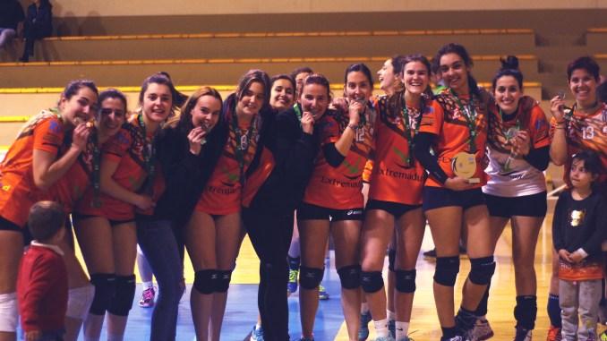 Badajoz acoge las Fases Finales Nacionales Senior Femenino de Voleibol