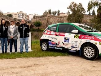 Celebrado el acto presentación conjunta del Extremadura Rallye Team con la Fundación Jóvenes y Deporte
