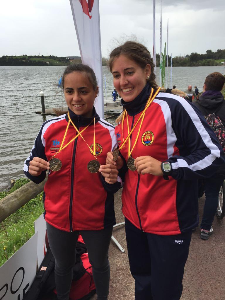 Estefanía Fernández consigue dos oros en la primera prueba de la Copa de España de Sprint Olímpico