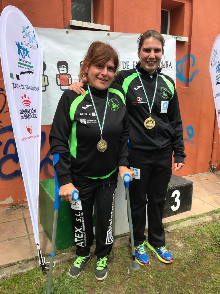 Elena Ayuso también gana en los JUDEX. La piragüista extremeña obtuvo el mejor tiempo en Plasencia