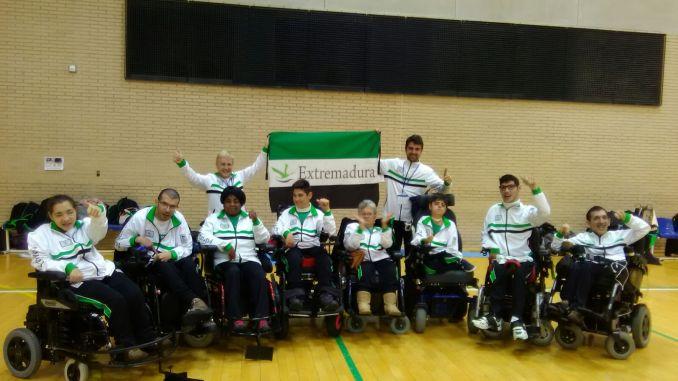 Extremadura inicia su andadura en el campeonato de España de Hockey en silla de ruedas eléctricas (HSRE)