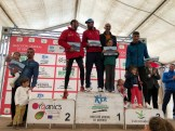 Podium General Masculina XIII Media Maratón Alburquerque