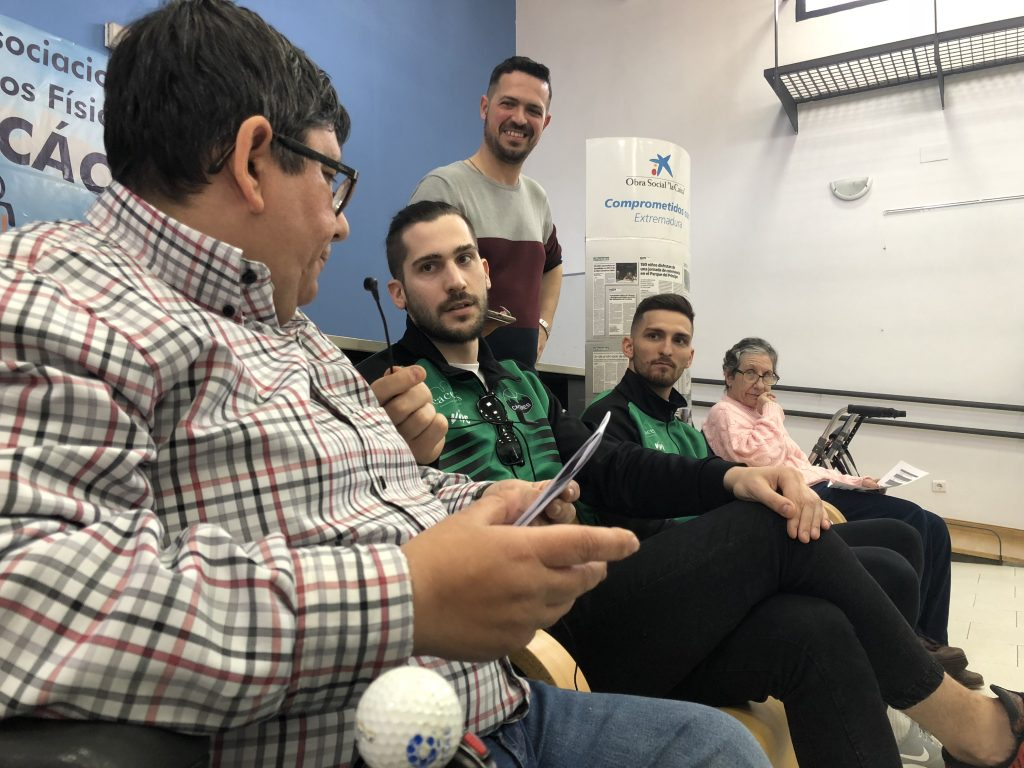 Pol Olivier y Nikola Rakocevic clausuran el Mes de la Inclusión en COCEMFE