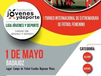 Presentación I Torneo Internacional de Extremadura de Fútbol Femenino, lunes 30 de abril 2018
