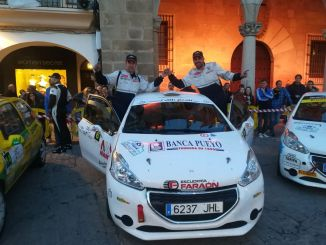 Noriego y Canelo, cuartos de la general, primeros extremeños en meta en el Rallye Norte de Extremadura