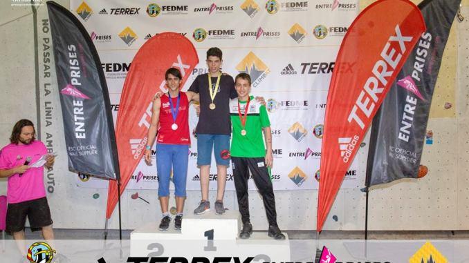 Éxito Extremeño en el Campeonato de España de Bloque 2018 Absoluto y Juvenil