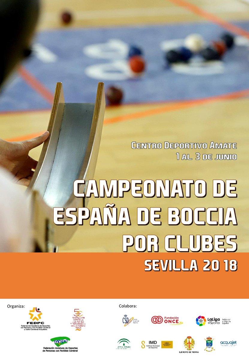 Campeonato de España Boccia en Sevilla 2018