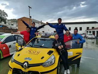 Casimiro y Ortiz se imponen en el XVI Rallysprint Villa de Feria