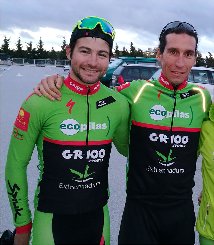 Pedro Romero y Dani Carreño en La Rioja Bike Race presented by Shimano