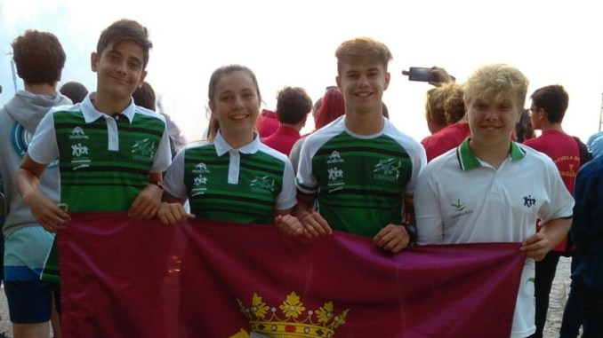 El Club Piragüismo Río Jerte de Plasencia participó en el Campeonato Nacional de Jóvenes Promesas