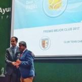 """El Club de Tenis Cabezarrubia reconocido como mejor """"Club de Pádel de Extremadura"""" (2)"""