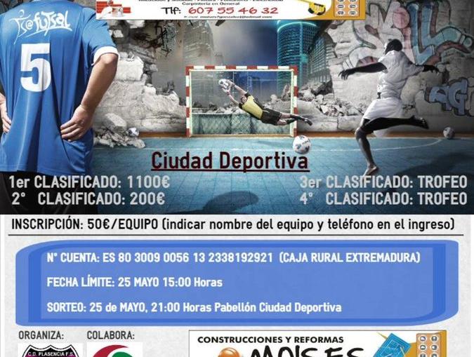 III 24 horas de Fútbol Sala Ferias y Fiestas de la Ciudad de Plasencia