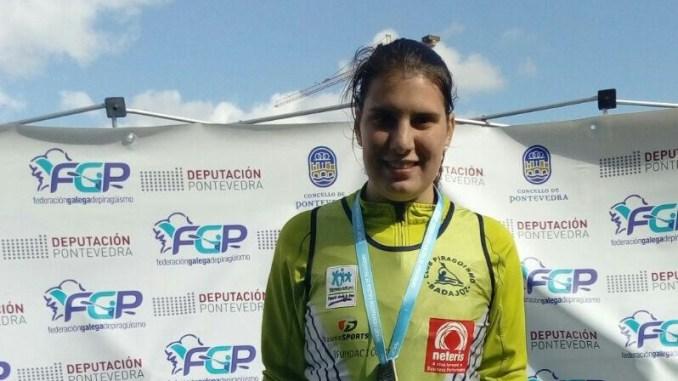 Medalla de oro para Elena Ayuso en Galicia