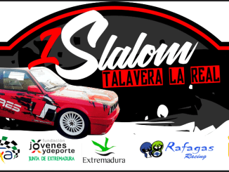 Talavera la Real acoge la tercera cita del regional de Slalom