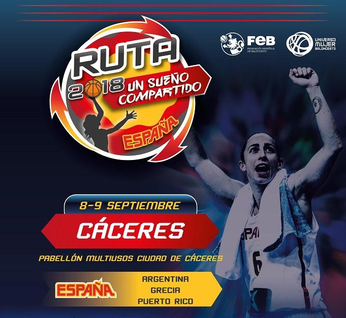 Descuentos para ver a la Selección Española Femenina de Baloncesto en Cáceres