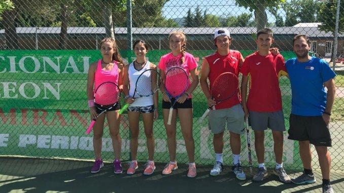 Finaliza la participación extremeña en el Torneo Internacional Cadete de Miranda de Ebro de Tenis