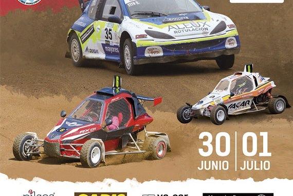 Integrantes de Ráfagas Racing en el X Autocross de Carballo