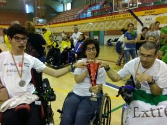 Los Extremeños consiguen un Oro y una Plata en el Campeonato de España de Boccia