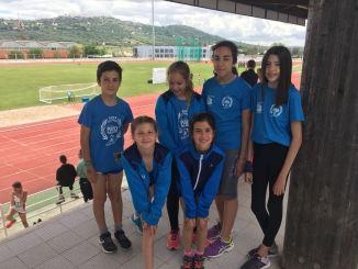 Los infantiles rozan las medallas en el Campeonato de Extremadura Judex de Pista