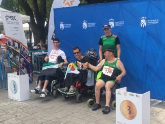 Primeras Medallas en el Campeonato de España de Atletismo Adaptado IPC