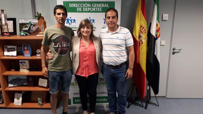 Productiva reunión entre FEXA y la Dirección General de Deportes de Extremadura
