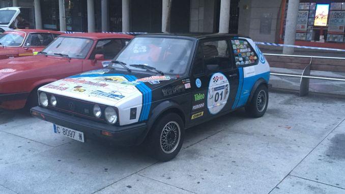 Reales y Barriga segundos en el VI Rallye-Entresierras Histórico en Guijuelo
