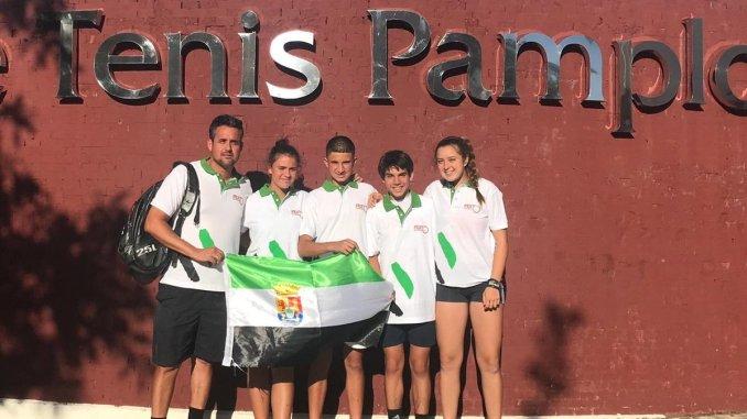 Resultados de los extremeños en el Campeonato de España Cadete de Tenis