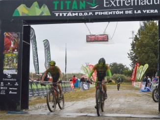 Doblete del equipo Extremadura-Ecopilas en la Titán DOP Pimentón de la Vera