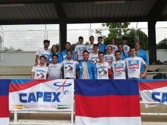 28 Medallas del CAPEX en el Campeonato de Extremadura Absoluto al Aire Libre