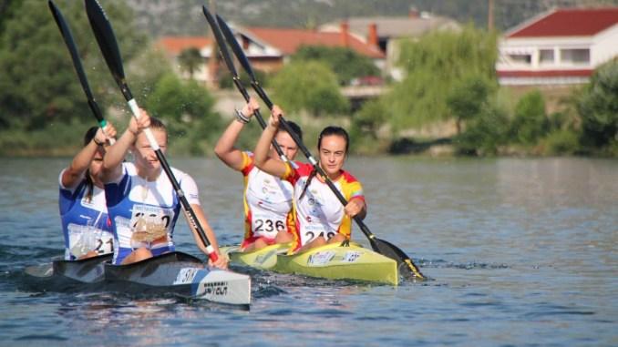 Alba Soriano de la Osa y Alicia Blanco quintas en el Campeonato de Europa de Maratón en el K2 Mujer Junior