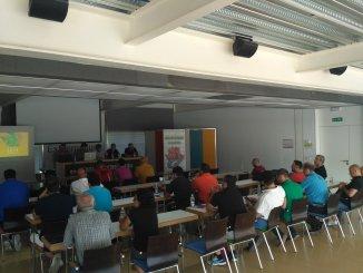 El CTD Ciudad Deportiva de Cáceres acogió la Asamblea General Ordinaria de la Federación Extremeña de Baloncesto