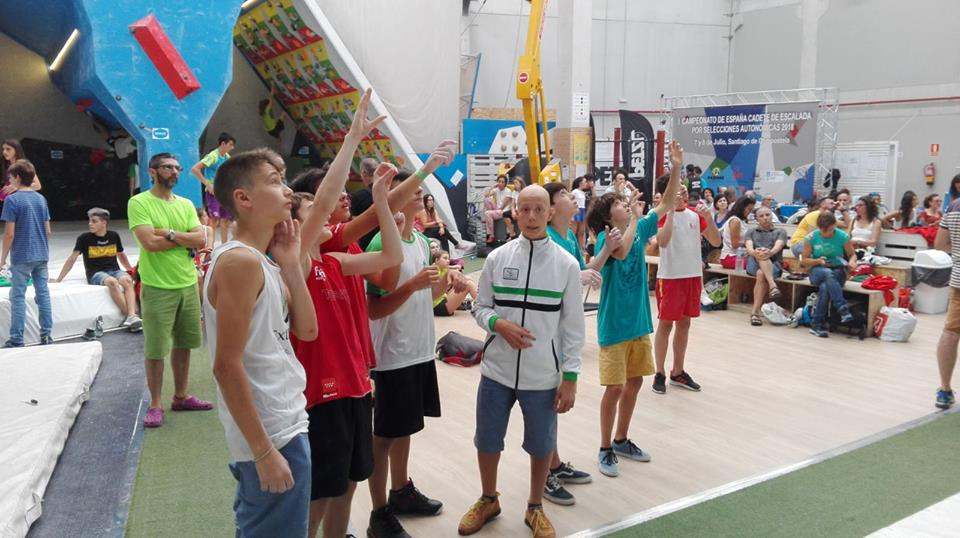 Bronce para la Selección Extremeña de Escalada Cadete en Santiago de Compostela (6)