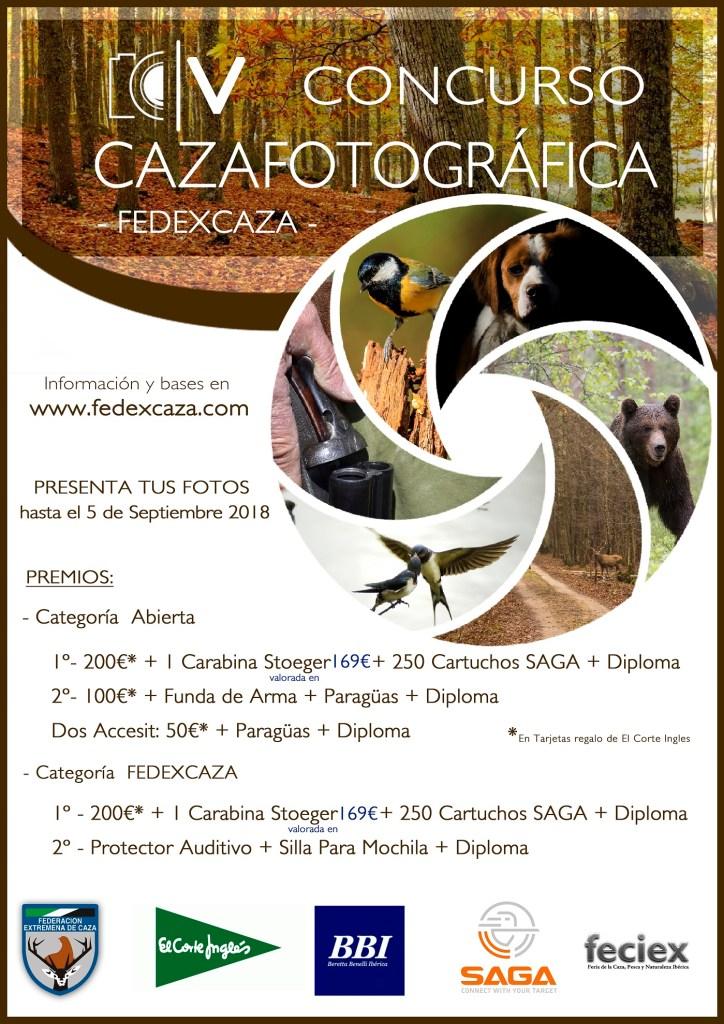 El concurso #CAZAFOTOGRÁFICA de FEDEXCAZA alcanza su quinta edición