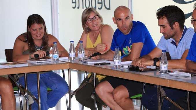 Elena Ayuso, presente en el Encuentro de deportistas de Alto Rendimiento y Alto nivel