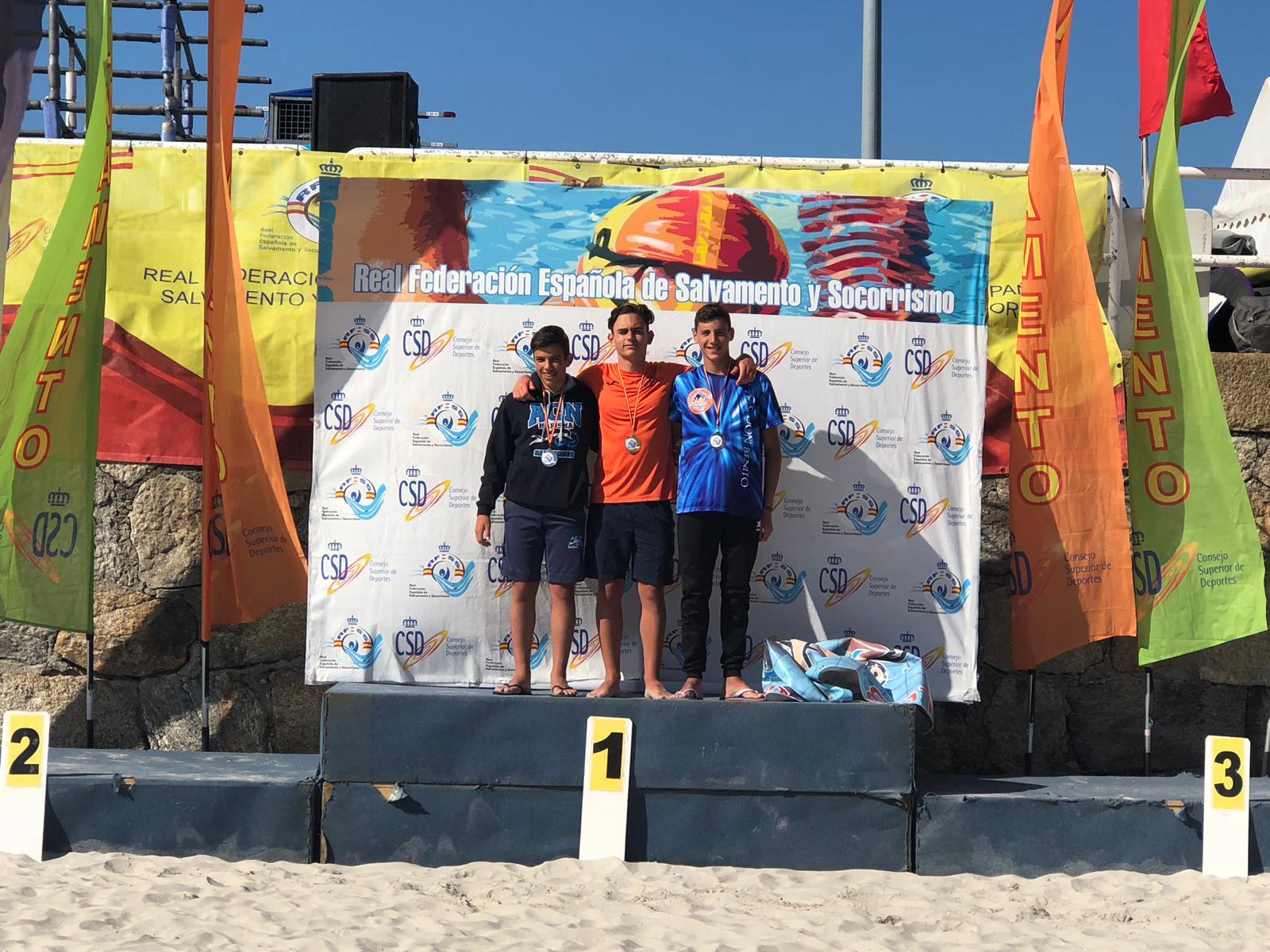 El Club Salvamento y Socorrismo Don Benito participó en el Campeonato de España Infantil y Cadete de Verano (3)