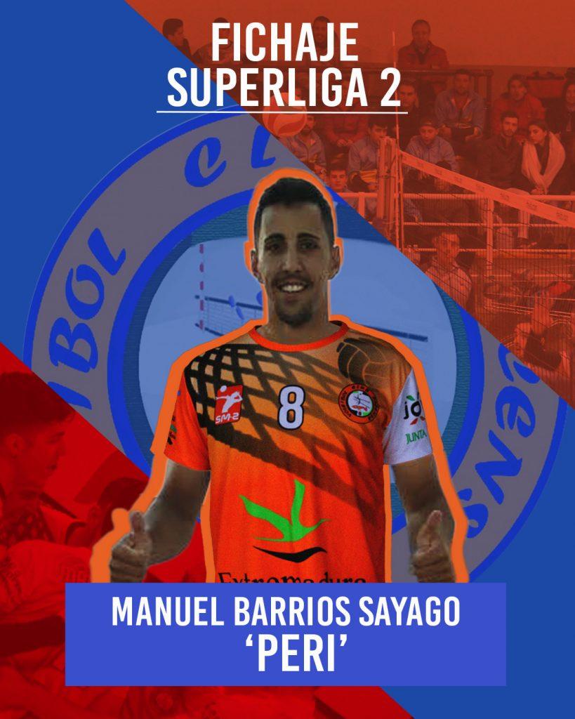Manuel Barrios Sayago 'Peri' ficha por el Extremadura Hotel Río Badajoz