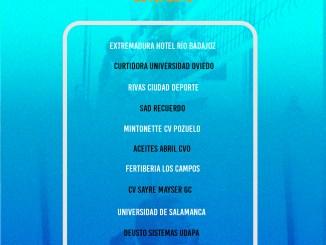 Las chicas del Extremadura Hotel Río Badajoz jugarán en el Grupo A